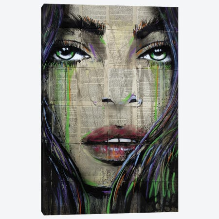 See Level Canvas Print #LJR489} by Loui Jover Canvas Art Print