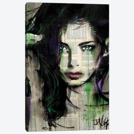 Green Bay Canvas Print #LJR490} by Loui Jover Canvas Art