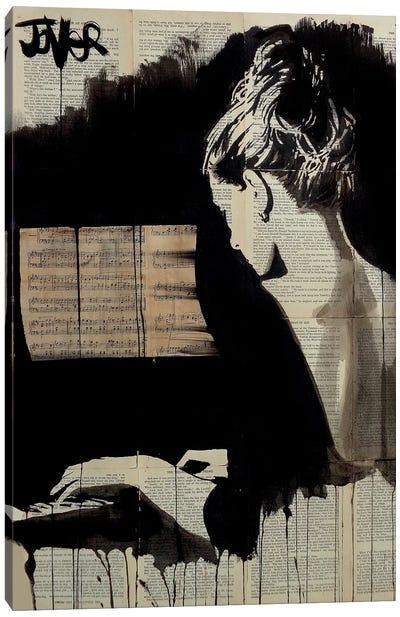 Hey Sonata Canvas Art Print