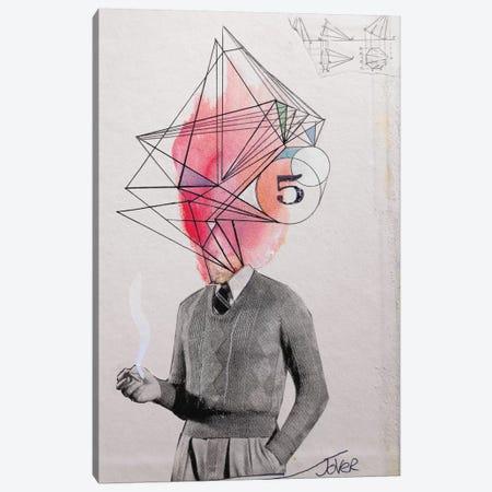 Architect Canvas Print #LJR4} by Loui Jover Canvas Art Print