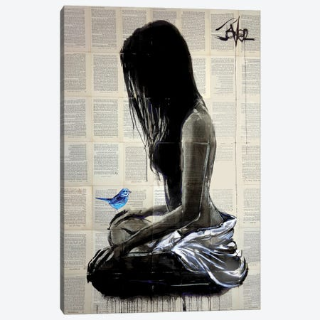 Maiden Hope Canvas Print #LJR501} by Loui Jover Canvas Wall Art