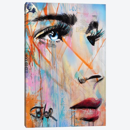 Fragile Waves Canvas Print #LJR503} by Loui Jover Canvas Art