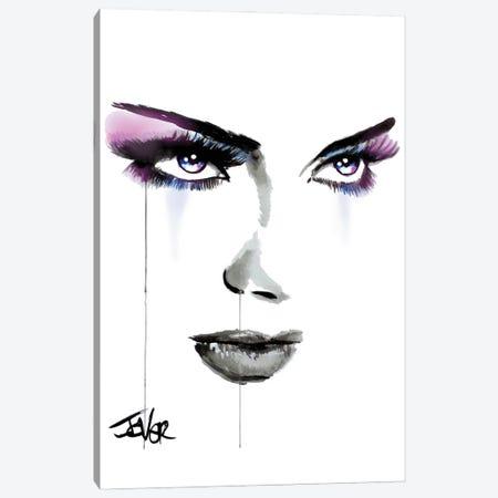 Blue Energy Canvas Print #LJR508} by Loui Jover Canvas Art