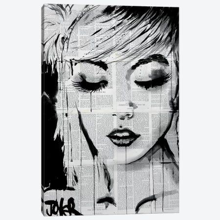 Ivy Canvas Print #LJR50} by Loui Jover Art Print