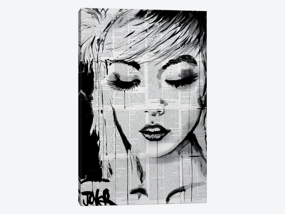 Ivy by Loui Jover 1-piece Canvas Wall Art