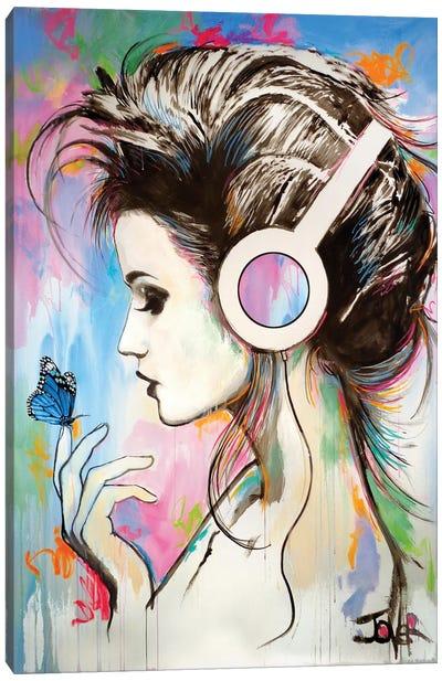 Music Butterfly Effect Canvas Art Print