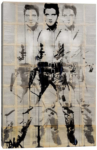 Elvis After Andy Canvas Art Print