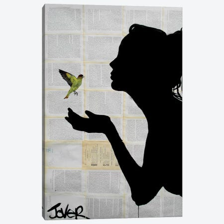 Freedom Canvas Print #LJR55} by Loui Jover Canvas Art