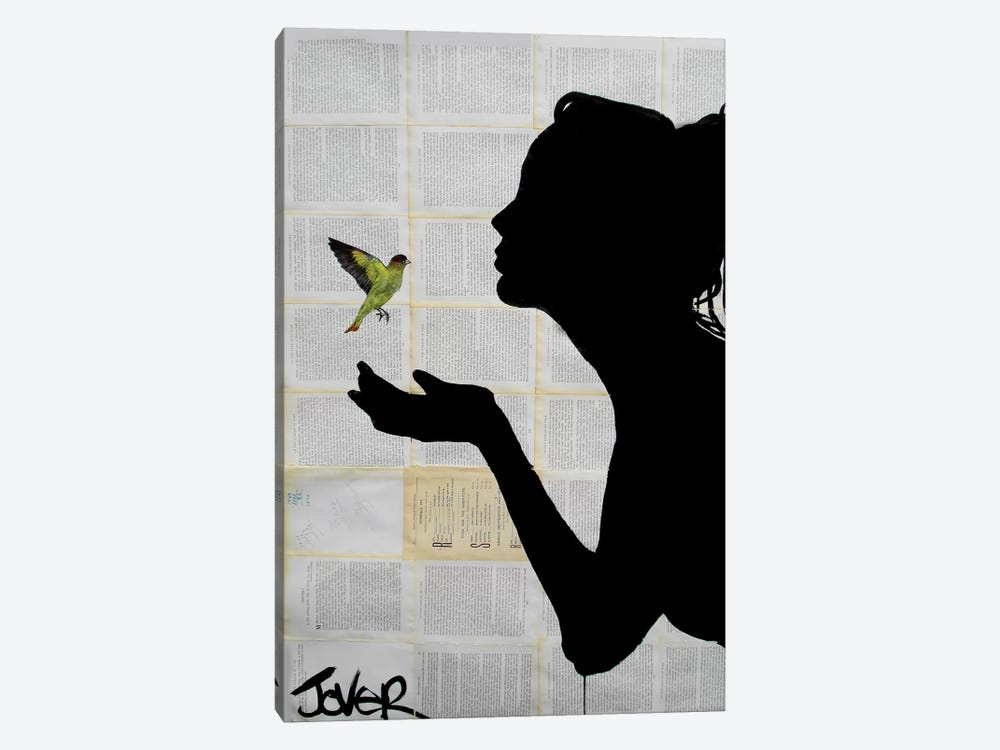 Freedom by Loui Jover 1-piece Canvas Art Print