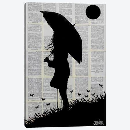 Horizon Canvas Print #LJR58} by Loui Jover Art Print