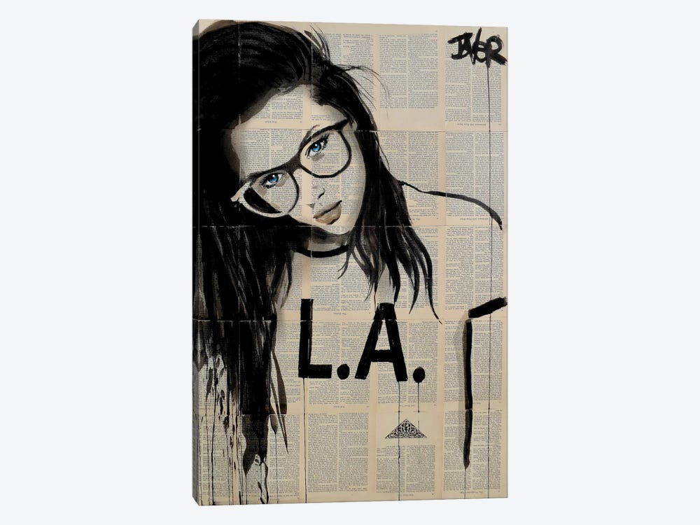 L.A. by Loui Jover 1-piece Art Print
