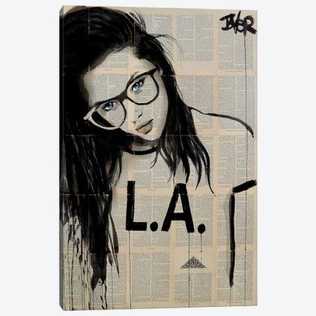 L.A. Canvas Print #LJR59} by Loui Jover Canvas Print