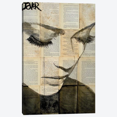 Birds Canvas Print #LJR5} by Loui Jover Art Print