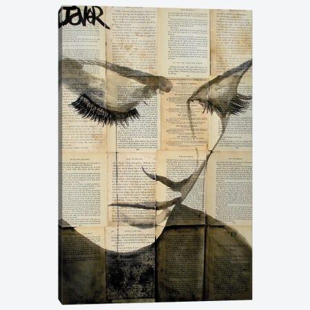 Birds Canvas Print #LJR5} by Loui Jover Art Print