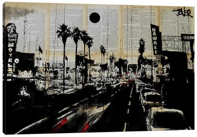 La Scene Canvas Art Print