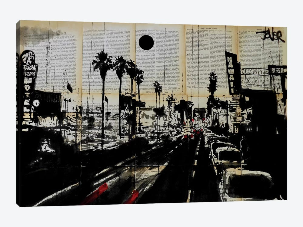 La Scene by Loui Jover 1-piece Canvas Print