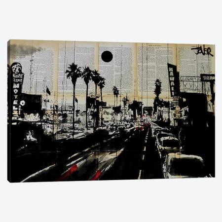 La Scene Canvas Print #LJR60} by Loui Jover Canvas Artwork