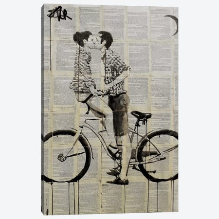 Love Cycle Canvas Print #LJR61} by Loui Jover Canvas Art