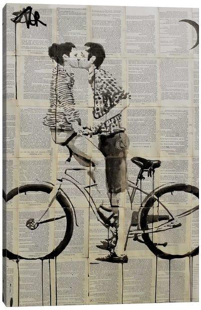 Love Cycle Canvas Art Print