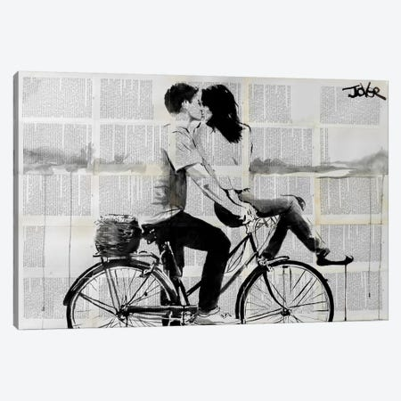 Love Ride Canvas Print #LJR62} by Loui Jover Canvas Wall Art