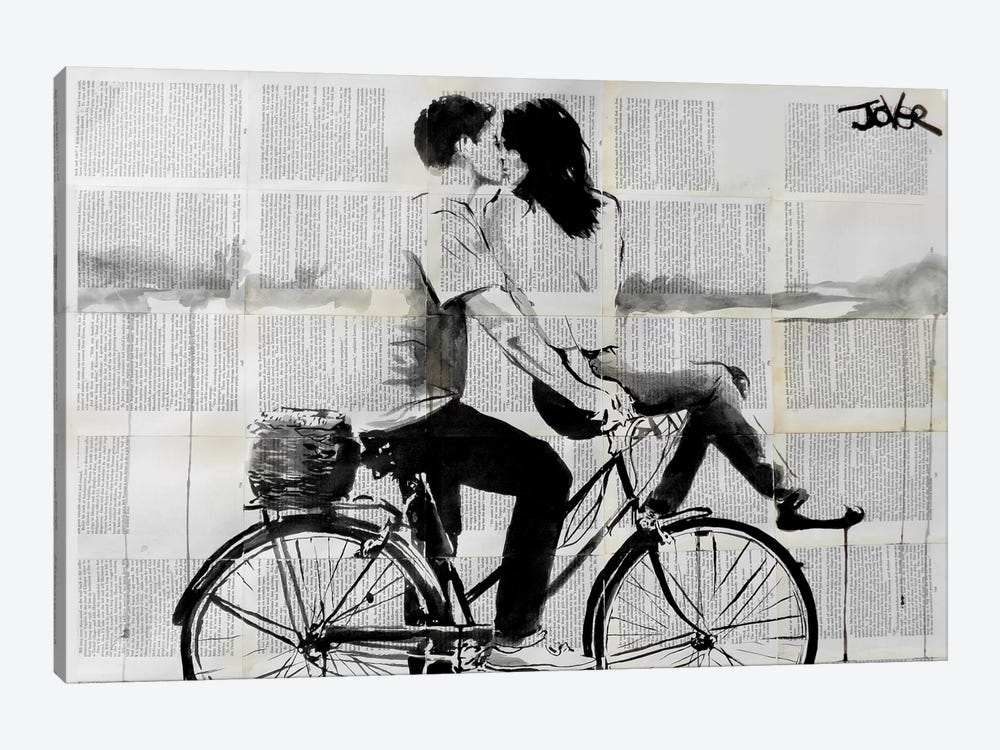 Love Ride by Loui Jover 1-piece Canvas Print