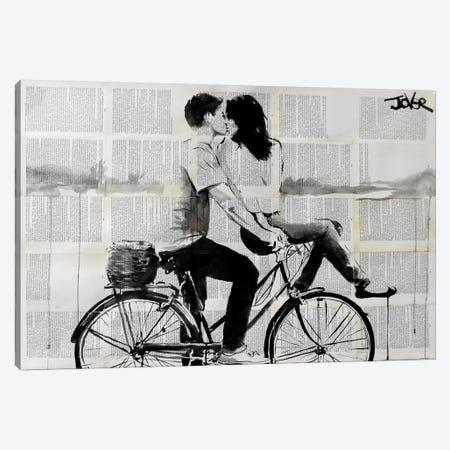 Love Ride Canvas Print #LJR62} by Loui Jover Canvas Wall Art