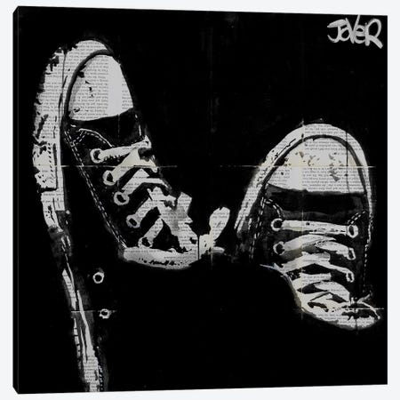 Matter Of Fact Canvas Print #LJR63} by Loui Jover Canvas Artwork