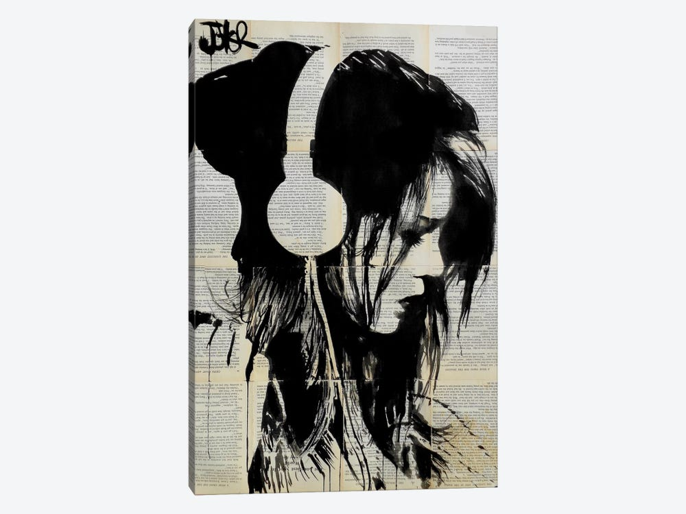 Melodies Solace by Loui Jover 1-piece Canvas Art Print