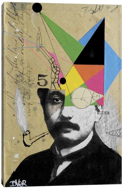 Einstein For The Lateral Thinker Canvas Art Print