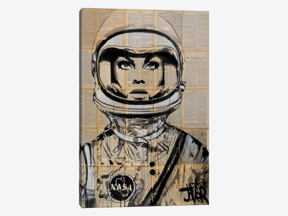 Orbit by Loui Jover 1-piece Canvas Artwork