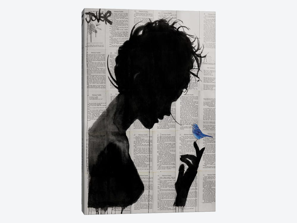 Poetica by Loui Jover 1-piece Canvas Art Print
