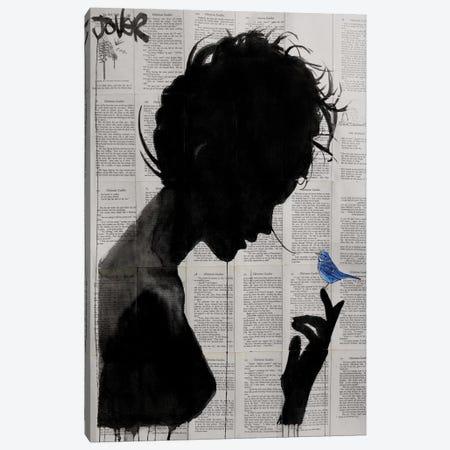Poetica Canvas Print #LJR71} by Loui Jover Canvas Print