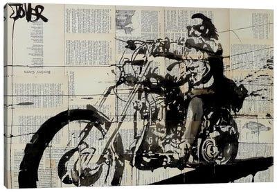 Rider Canvas Print #LJR72