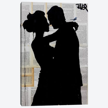 That Moment When Canvas Print #LJR74} by Loui Jover Canvas Artwork