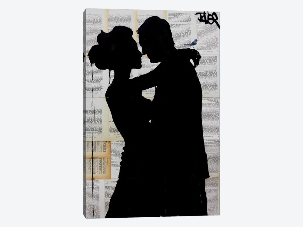 That Moment When by Loui Jover 1-piece Canvas Wall Art