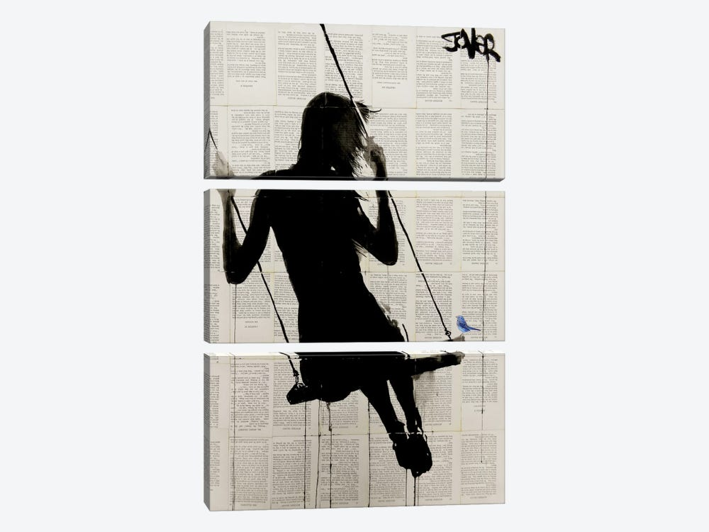 The Freedom Of Sometimes by Loui Jover 3-piece Canvas Art