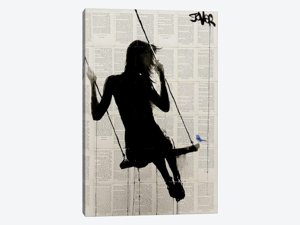 The Freedom Of Sometimes by Loui Jover 1-piece Canvas Artwork