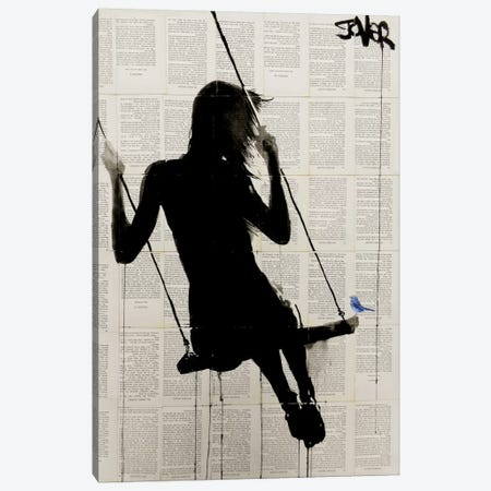 The Freedom Of Sometimes Canvas Print #LJR76} by Loui Jover Canvas Artwork