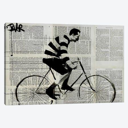 The Rider Canvas Print #LJR78} by Loui Jover Art Print