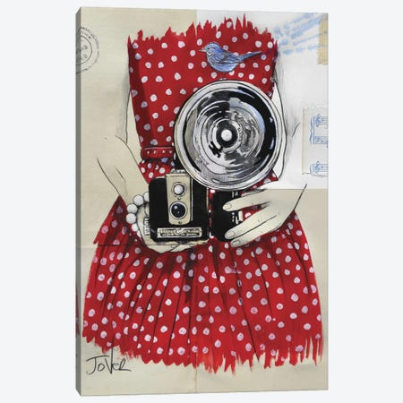 Flash Canvas Print #LJR7} by Loui Jover Canvas Art Print