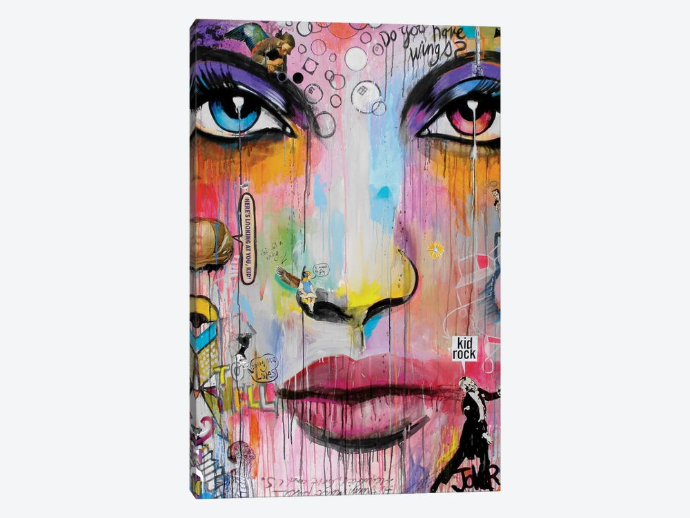 Wings by Loui Jover 1-piece Canvas Artwork