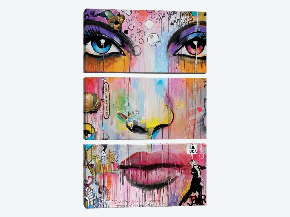 Wings by Loui Jover 3-piece Canvas Art