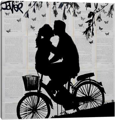 A Little Love And Adventure Canvas Art Print