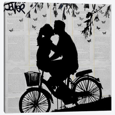 A Little Love And Adventure Canvas Print #LJR86} by Loui Jover Canvas Print