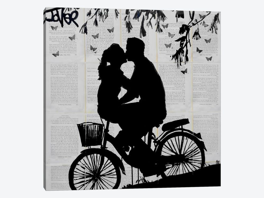 A Little Love And Adventure by Loui Jover 1-piece Canvas Print