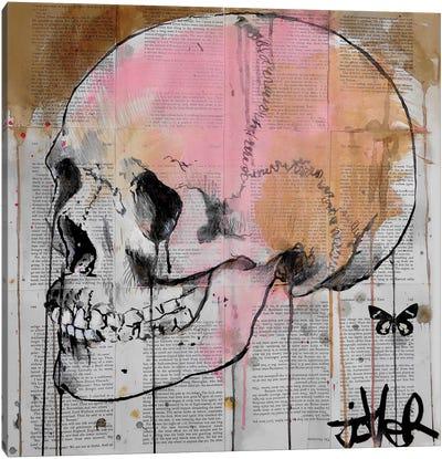 Alas Canvas Art Print