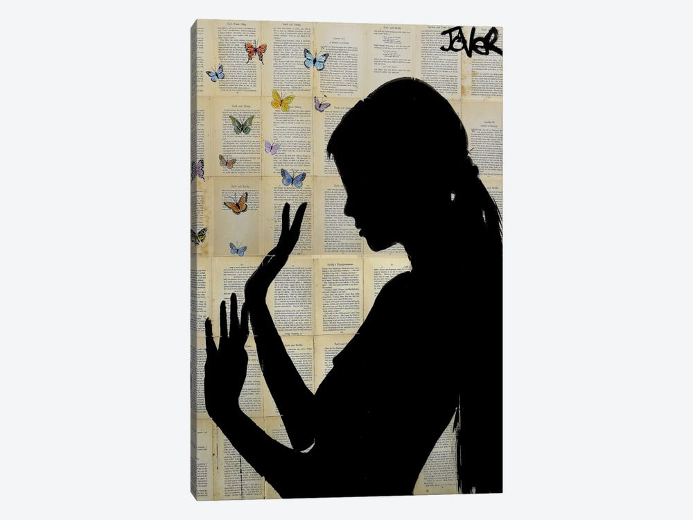 Butterfly Days by Loui Jover 1-piece Canvas Art Print