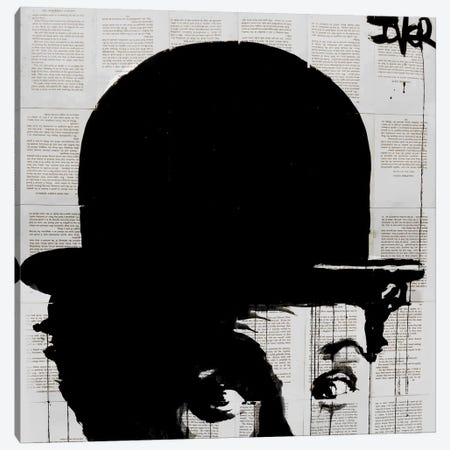 Charlie's Hat Canvas Print #LJR92} by Loui Jover Art Print