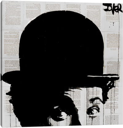 Charlie's Hat Canvas Print #LJR92