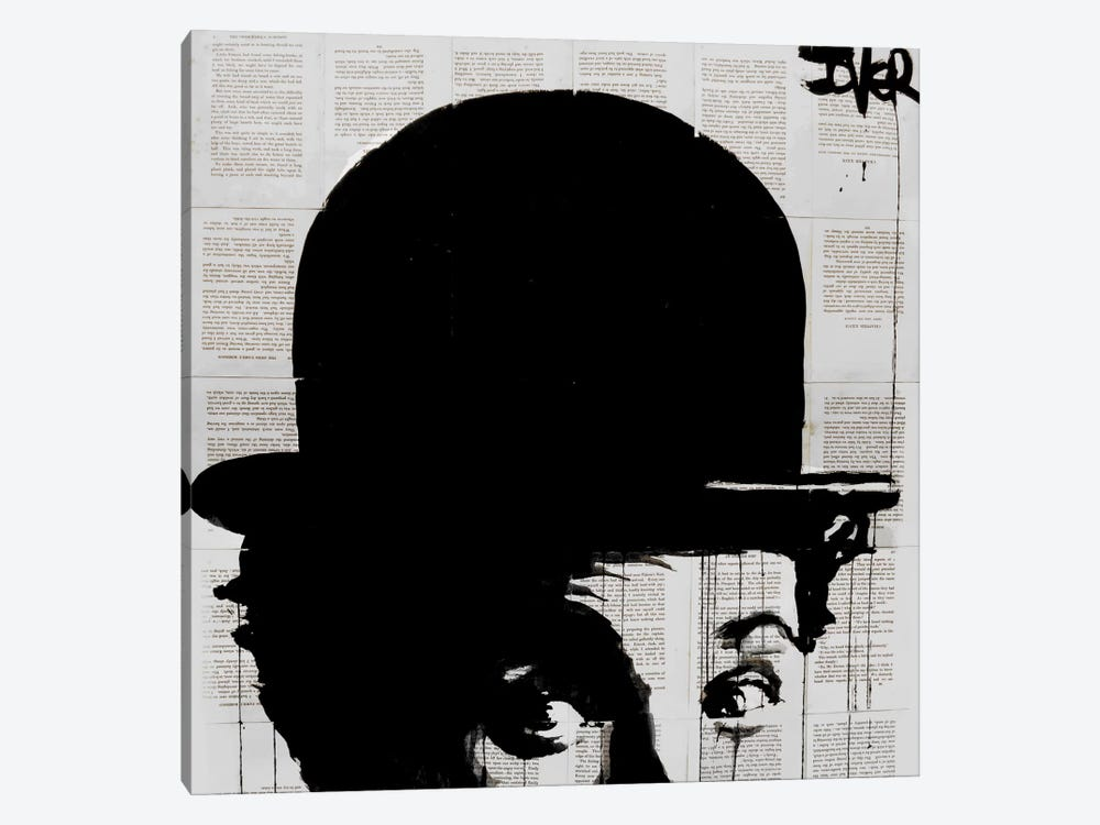 Charlie's Hat by Loui Jover 1-piece Canvas Art